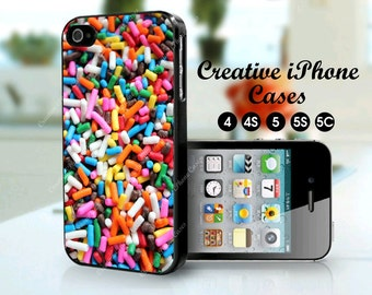 Candy Sprinkles phone case for the iPhone 4/4S, iPhone 5 / 5S, iPhone 5C, iPhone 6, iPhone 6 plus