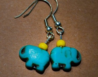 Baby Elephant Earrings