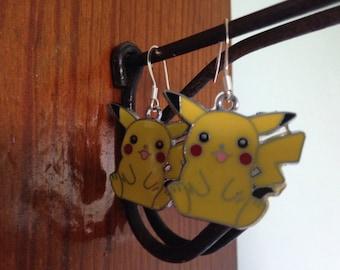 Pikachu earrings!