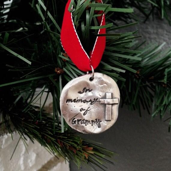 Religious Christmas Ornaments Religious Christmas: Memorial Christmas Ornament