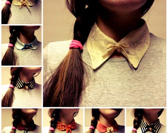 Pack of 4 Collar with a bow