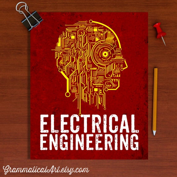 Electrical Engineer Poster Engineering Circuit By