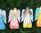 4 Seasons Fairy Queens, Waldorf-inspired all-natural wooden toys