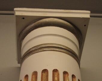 pair DORIC Greek classical columns