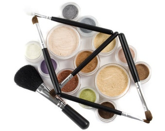 21 GLEAMING Color Mineral Makeup Kit - Full Sizes - Customize Free