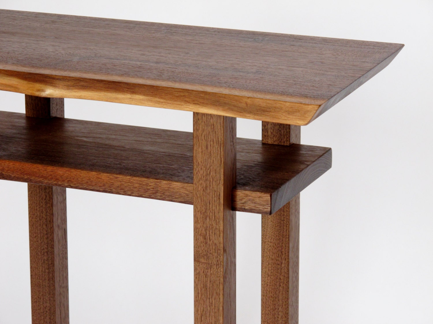 Small narrow table custom furniture 1824w x for Narrow side table
