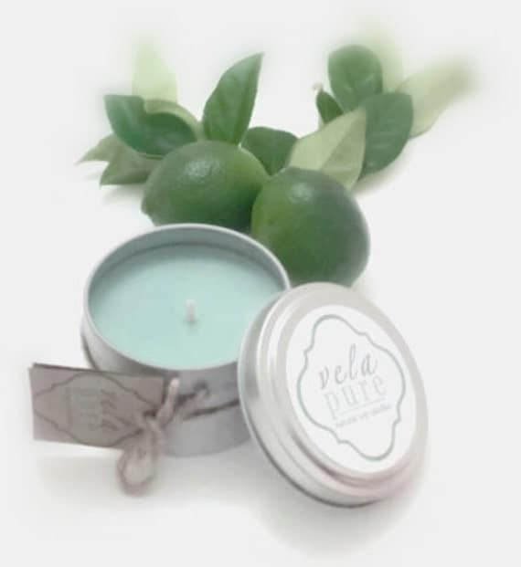 Lemon Verbena 6oz. Soy Candle