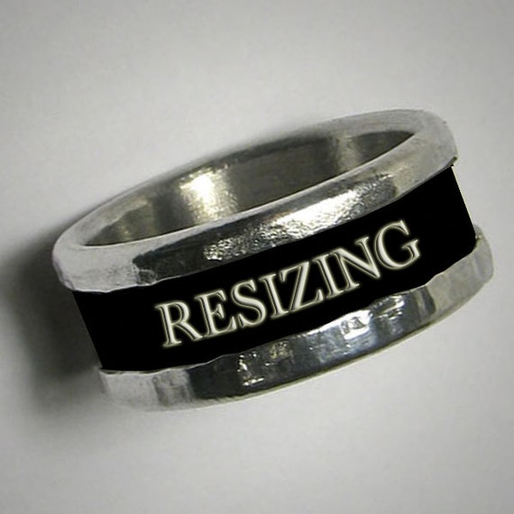 resizing mixed metal copper or brass and sterling silver