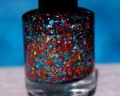 Beachin' It handmade custom nail polish