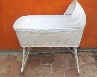 Popular Items For Wicker Bassinet On Etsy
