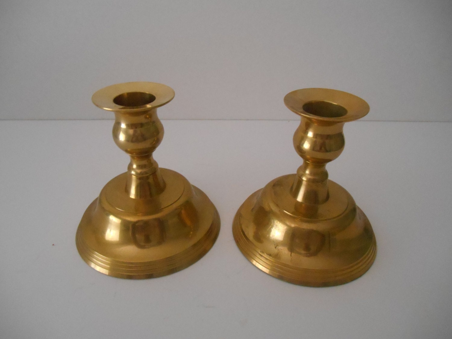 how to clean brass candle holders