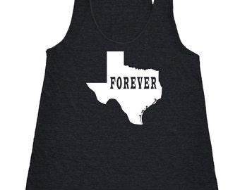 Texas Forever Tank Top. Women's Tri Blend Racerback Tank Top SEEMBO