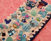 Samsung Galaxy S4 Case, Decoden, Sweets, Shades of Blue and Lots of Bling