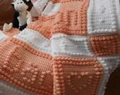 MOON pattern for crocheted blanket