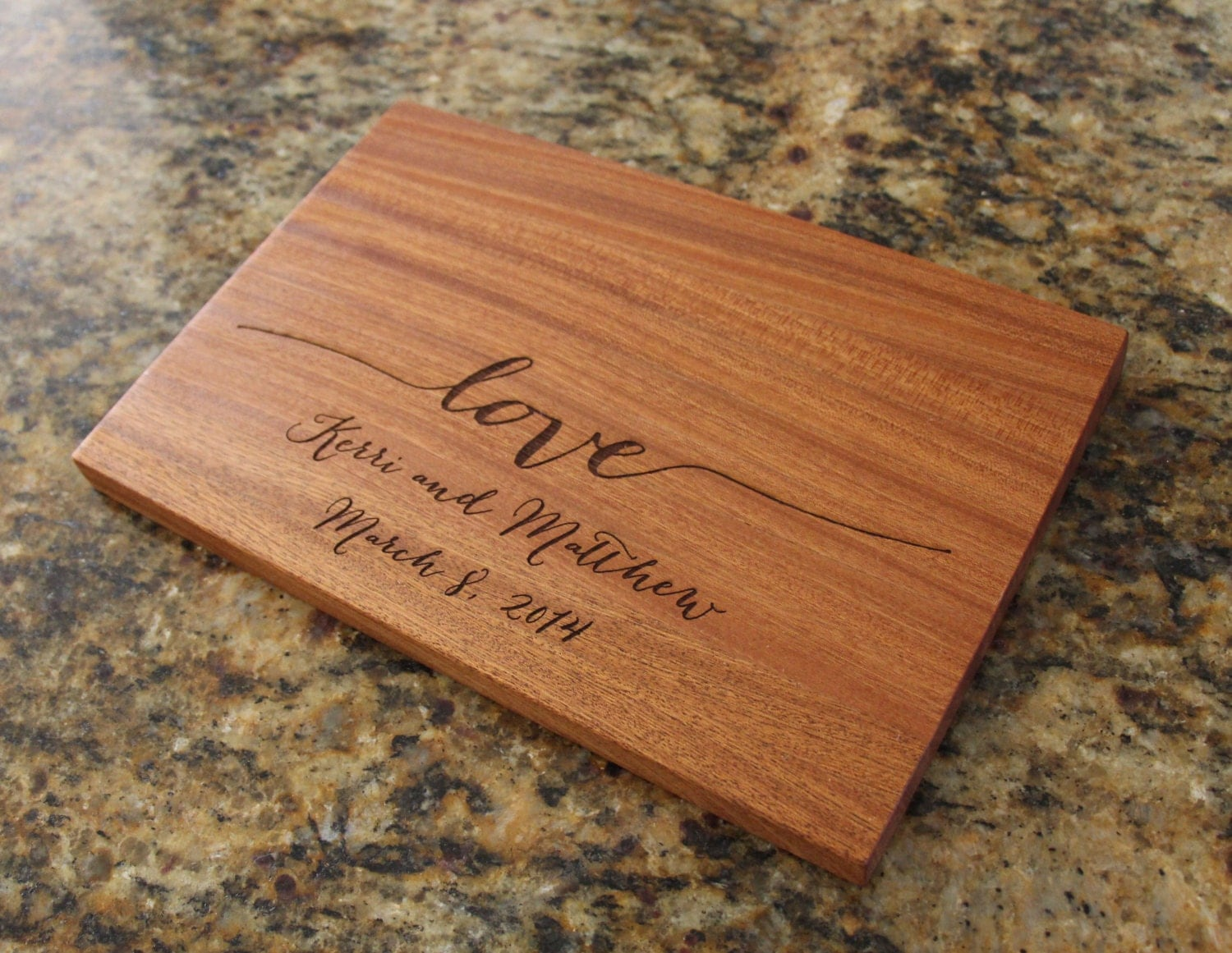 Personalized cutting board wooden cutting by everythingdecorated - Engraved wooden chopping boards ...