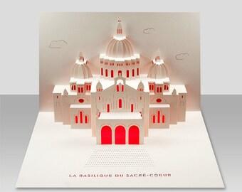 Sacre Coeur Basilica pop-up