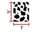 Cow Print Stickers Vinyl Decals