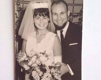 Vintage 1960's Israeli Bridal Photographs - set of 5 Photography , Paper Ephemera ,   Snapshot , Old Photo FREE SHIPING