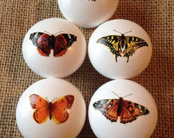 Mix & Match Butterfly Draw Knobs