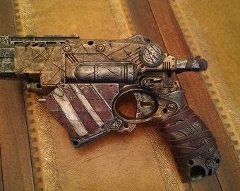 STEAMPUNK gun, Nerf Vortex toy gun ! For cosplay