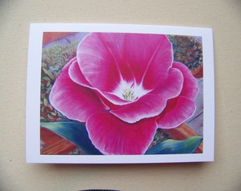"flower greeting cards ""the sunbather"""