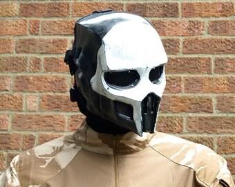 Mortal Kombat Noob Saibot Full Face Ork Airsoft Mask - Made to order -
