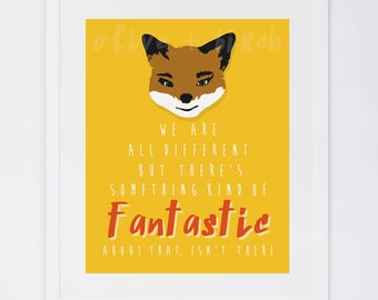 Fantastic Mr. Fox Quote Printable