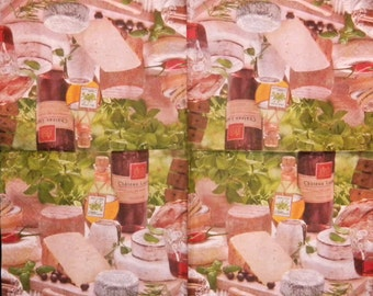 3-ply,13'x13' TWO Napkins for Decoupage and Paper Crafts