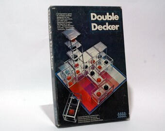 Double Decker Strategy Game from Pressman 1971 COMPLETE