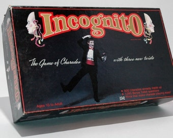 Incognito Game of Charades with a Twist 1985 COMPLETE