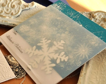 Winter Wonderland Invitation / Frozen SWAROVSKY VERSION