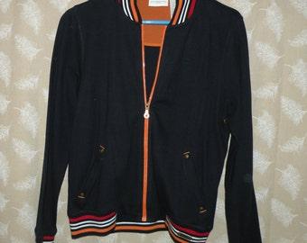 vintage CLAIBORNE jacket, woman's jacket, sports jacket