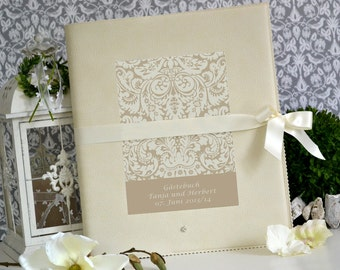 Guestbook for the wedding in XL format
