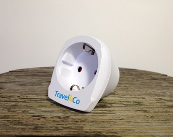 Lampe, plug in pendant, adaptor, to fit the Dutch plug in foreign sockets