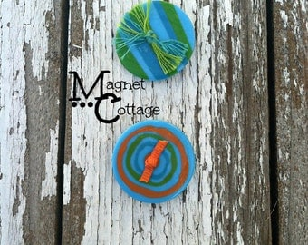 Magnet, magnets button, fridge magnet, circle, geometric, locker magnet, house decor, party favors, deocrative magnet, housewares