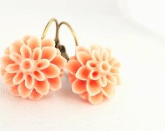 Earrings Romantic Flower