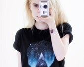 Hand Painted Mountain in the Sky Tee