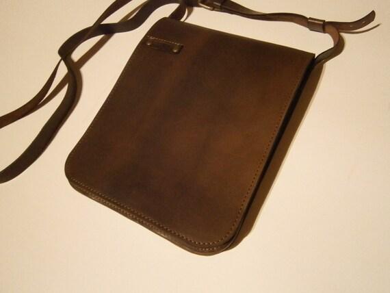 Ipad leather bag, ipad case, Man Bag, Slim I pad bag, handmade bag, iPad pouch