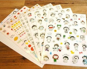 Everyday Happyday Sticker - 6 Sheets
