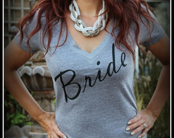 Bride Shirt, Wifey Shirt, Bridal Shirt, Bridal Shower Gift, Wedding, Bachelorette Gift, Bride To Be, Classy Fitted Shirt