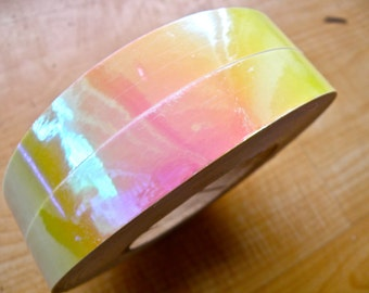 "3/4"" Opal Sunset Metallic Hula Hoop Tape"