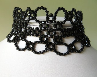 SALE WITH CODE Black Gothic Victorian Choker