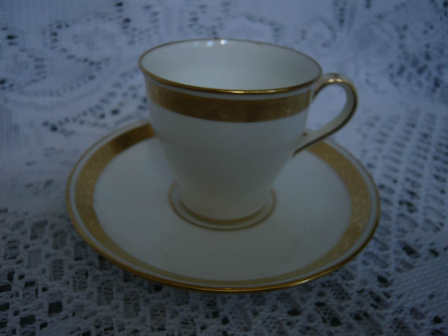 antique minton demitasse cup and saucer 1916 p circa 1900. Black Bedroom Furniture Sets. Home Design Ideas