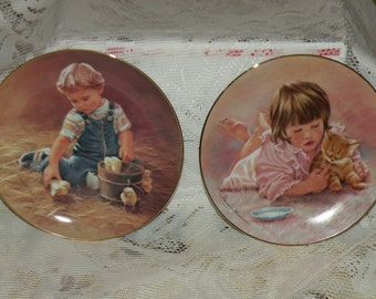 Magic of Childhood Plates by Abbie Williams - Hamilton Collection