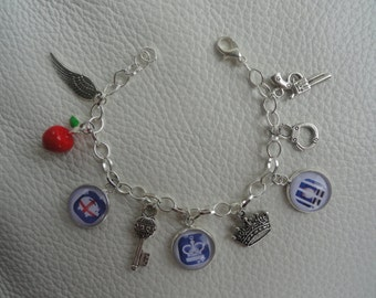 Moriarty Charm Bracelet