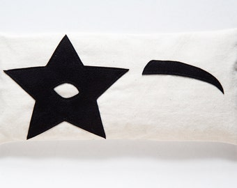 The Star Child Lavender and Flaxseed Eye Pillow