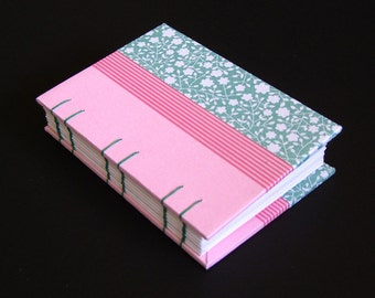 SPRING STEP (A7 Coptic Stitched Notebook)