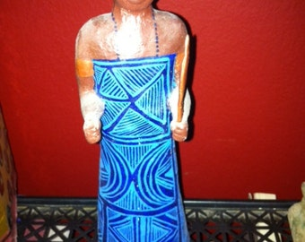 Estatua Orisha SANTERIA STATUE Yuruba African OGUN ogum guerrero