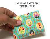 Sewing Pattern for Wallet Card Case Make it Yourself Credit Card Holder PDF - INSTANT DOWNLOAD