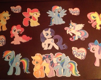 My Little Pony Die Cuts